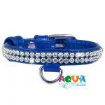 oshejnik-collar-brilliance-strazy-sinij-12-mm-33082-kollar