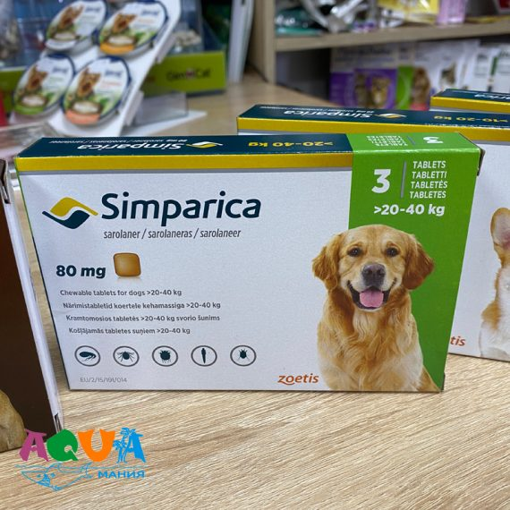 чем надёжно защитить собаку весом от 20 до 40 кг от клеща на длительный период