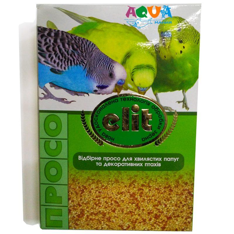 Просо для попугаев волнистых