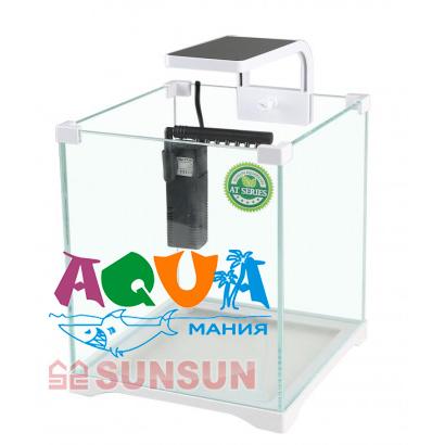 как правильно выбрать аквариум для креветок аквариум SunSun ATK 200D