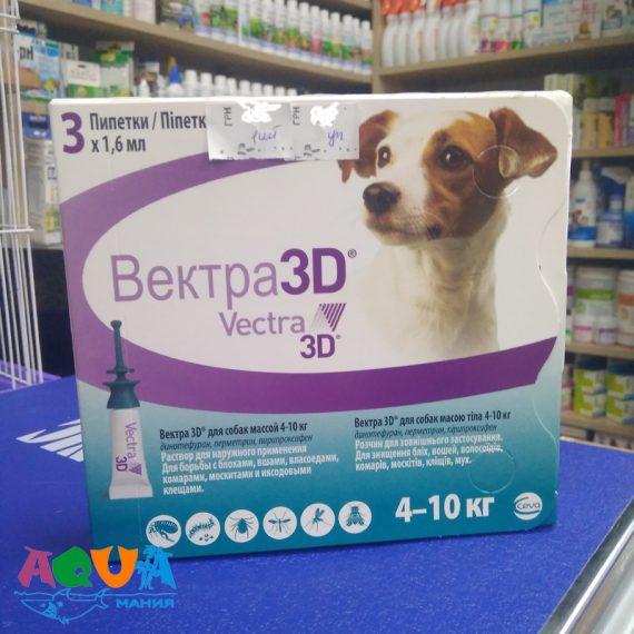 чем лучше защитить собаку VECTRA 3D (Вектра 3Д) Ceva инсектоакарицидные капли от блох и клещей для собак