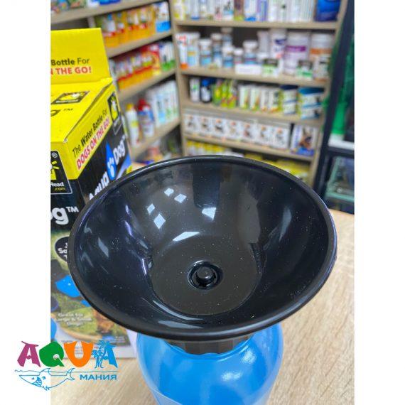 тарелка в Бутылке – поилке дорожной PET BOTTEL 500 мл может быть использована для кормления кошки или собаки