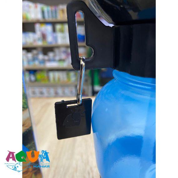 поясная Бутылка – поилка дорожная PET BOTTEL 500 мл с тарелкой крепится на рюкзак сумку амуницию