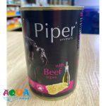 Консервы для собак Dolina Noteci Piper с говядиной и рубцом 400 г влажные корма для животных