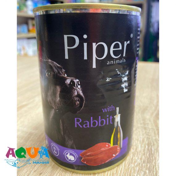 Консервы для собак Dolina Noteci Piper с кроликом Долина Нотечи Польша для собак всех пород качественный влажный корм