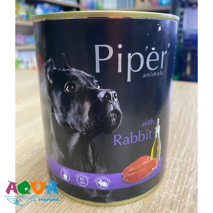 Консервы для собак Dolina Noteci Piper (Долина Нотечи Пайпер) с кроликом 800 г консервированный корм для всех пород собак