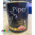 Консервы для собак Dolina Noteci Piper (Долина Нотечи Пайпер) сердце с коричневым рисом 800 г
