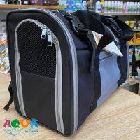 как посадить животное в сумку Рюкзак переноска для собак и кошек CONNOR 2882 Трикси