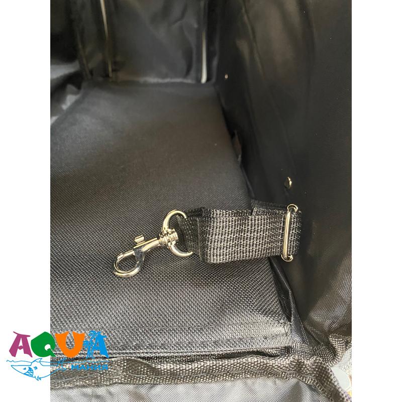 как зафиксировать животное в Рюкзаке переноске для собак и кошек CONNOR 2882 Трикси